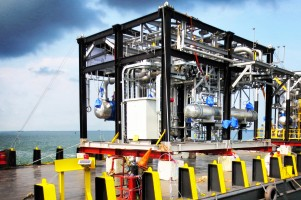 Sea Transportation of Filtration Skid