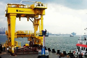 Sea Transportation of Gantry Crane