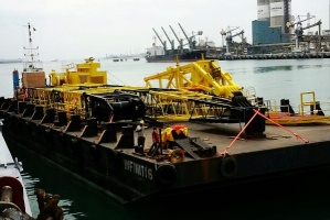 Sea Transportation of Crane & Parts