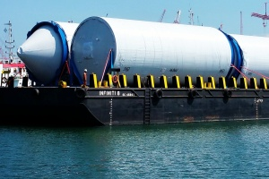Sea Transportation of Storage Tanks
